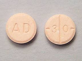 Adderall 30mg By Shire